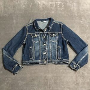 Maurices Cropped Jean Jacket!